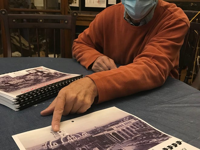 Scott Schaut has the 2021 annual Mansfield Memories calendars ready at the Mansfield Memorial Museum, 34 Park Avenue West. The calendars are $15 and help raise funds for the museum.