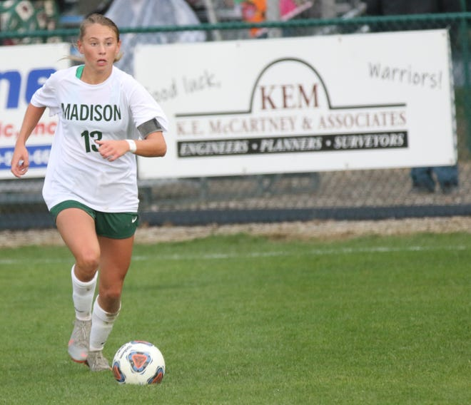 Madison's Taylor Huff hopes to lead the Lady Rams to their fourth consecutive district championship and a repeat visit to the Division II state title game.