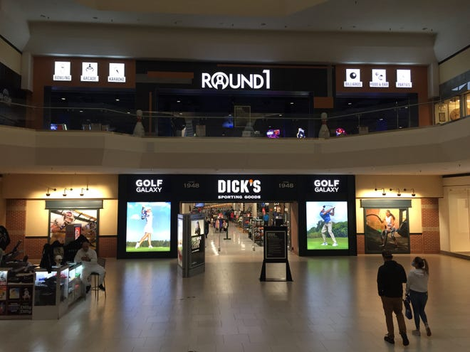 Round 1 and Dick's Sporting Goods are among the new tenants in Southridge Mall's redeveloped former Sears store. The mall is in foreclosure and will be given to its lender, according to a new report.