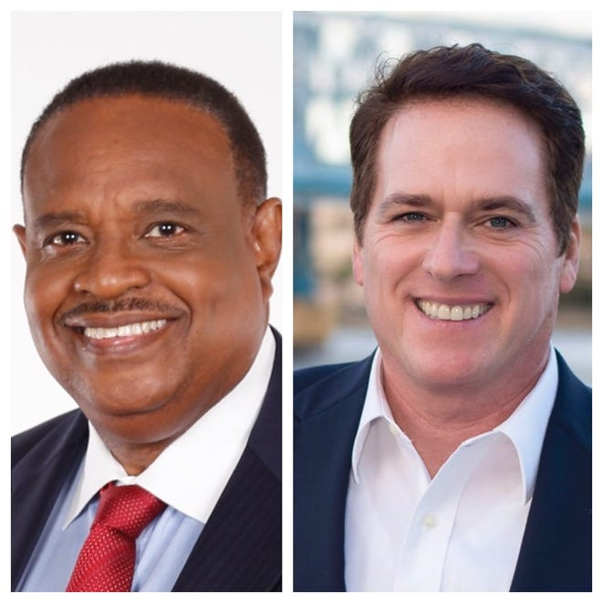 Candidates for U.S. House, District 5: Incumbent Al Lawson (D), and Gary Adler (R)