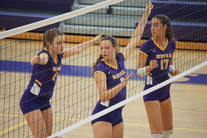 Fort Pierce Central takes on Jensen Beach in volleyball action on Saturday, Sep. 12, 2020.