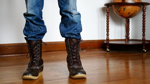 Rain and sleet are no match for these durable boots.