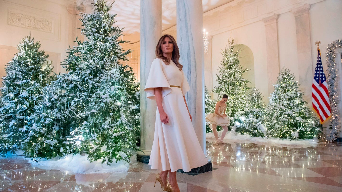 Recording reveals Melania Trump's curse over White House Christmas decorating duties; Twitter reacts