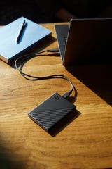External hard drives now have huge capacity and lowered prices over the years, such as the WD (Western Digital) My Passport 1TB External USB 3.0 Portable Hard Drive, for about $59.