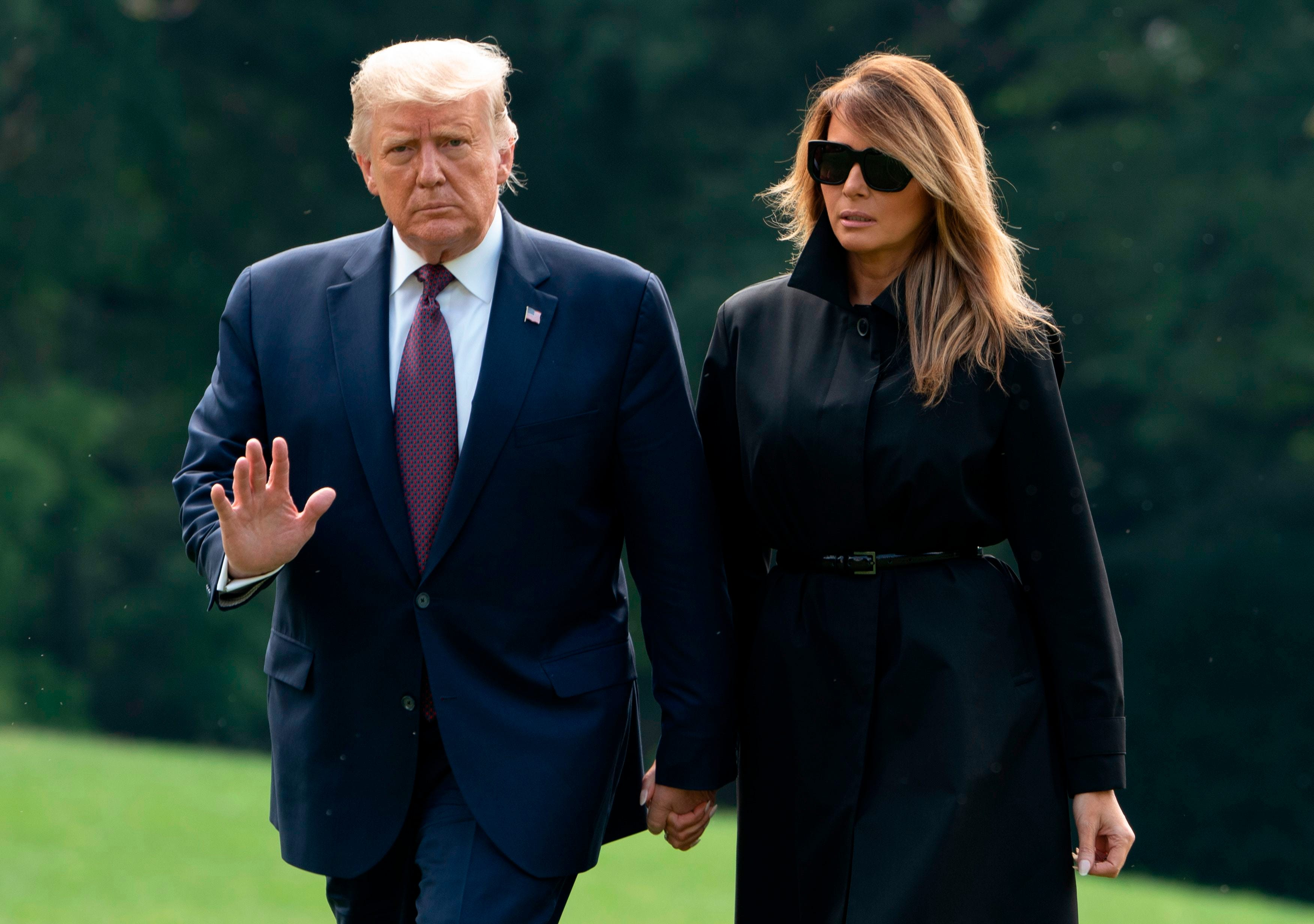Trump quarantining after White House adviser Hope Hicks tests positive for COVID-19