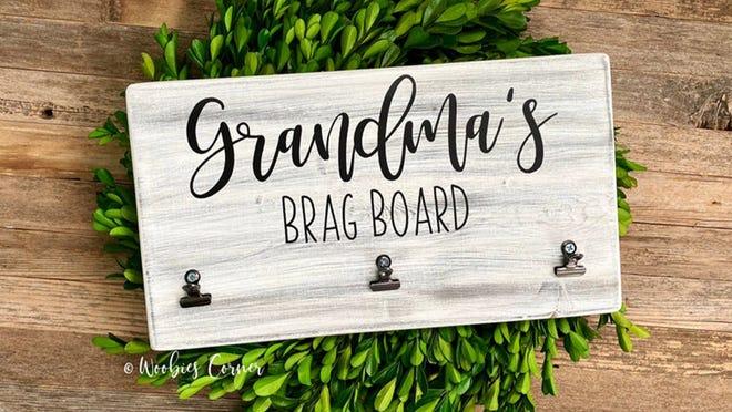 Los mejores regalos para la abuela: el tablero de alardes de la abuela