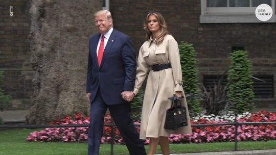 "President Donald Trump and first lady Melania Trump have tested positive for COVID-19 and ""will begin our quarantine and recovery process immediately."""
