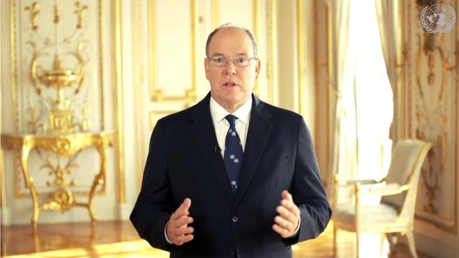 "In an interview with BBC World News, Prince Albert II of Monaco gave his take on Prince Harry and Duchess Meghan's explosive interview with Oprah Winfrey, saying he found their ""public display of dissatisfaction"" inappropriate."