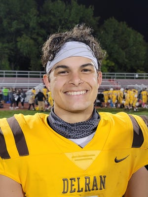 Delran sophomore quarterback Derek Namnun is a captain for the 202 Bears football team.