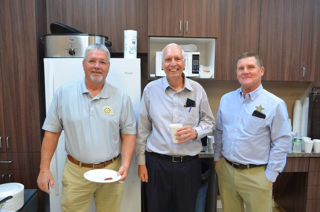The VPSO honored outgoing District Attorney Asa Skinner with a special luncheon.
