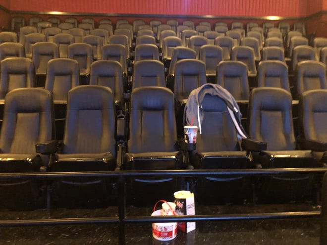Cinemark theaters at Randolph Mall in Asheboro have been empty since March 17, but they will finally reopen on Friday, Oct. 9.