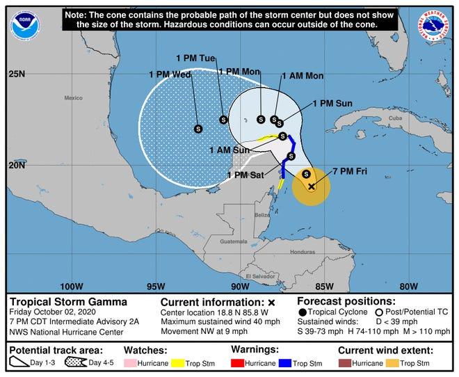 Tropical Storm Gamma