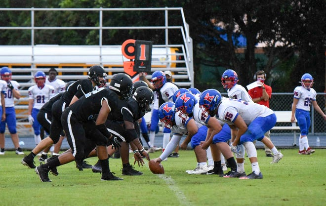 St. John Paul II and King's Academy played last week. Both teams were drawn into Nov. 6 play-in games, a new wrinkle to the state postseason.