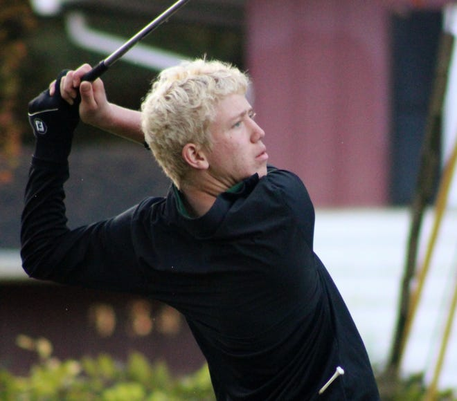 Luke Radis fired a 76 at Good Park Golf Course in Akron to lead the Aurora boys golf team to the 2020 Suburban League American Division boys golf championship.