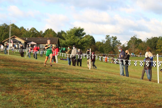 Mogadore freshman Katie Lane captured a CVNP Invitational title Saturday morning.