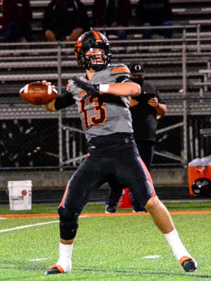 Waverly senior quarterback Haydn' Shanks was named Division IV first team All-Ohio by the Ohio Prep Sportswriters Association on Tuesday.