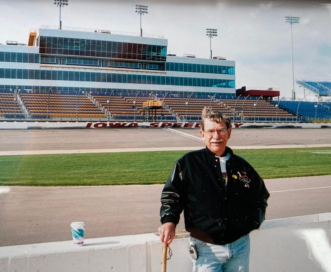 """Richard Larsen in an undated photo.  The classic car and racing enthusiast was memorialized with a classic car """"roll-in"""" on October 3, 2020 in Altoona. Larsen, 77, died from COVID-19 on September 2."""