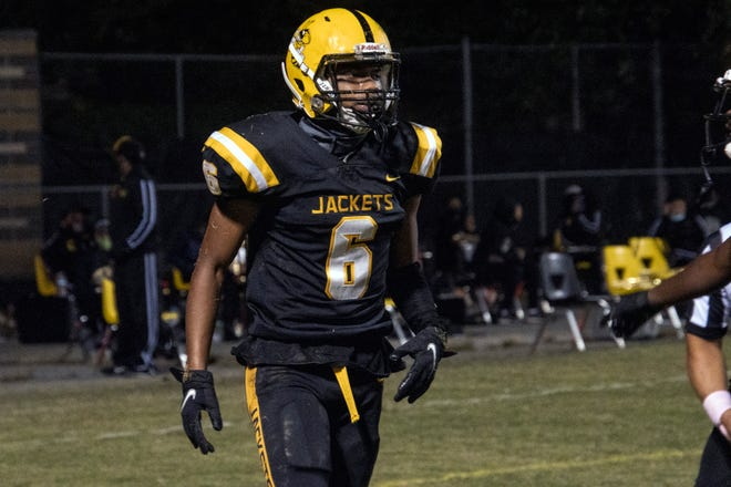 Central High's Jaylen Thomas was in beast mode against Shelby County on Friday night. 10/2/20