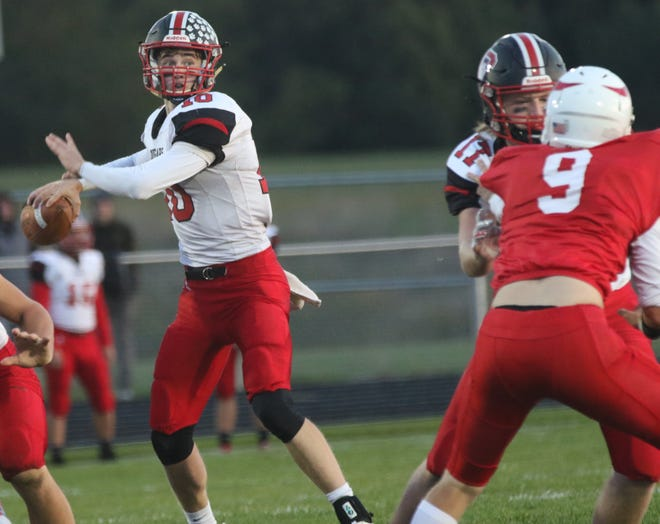 Crestview's Ross Kuhn was named first team All-Ohio in Division VI on Monday.