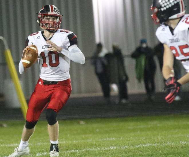 Crestview quarterback Ross Kuhn was named the Division VI Northwest District Offensive Player of the Year for his 2020 effort.