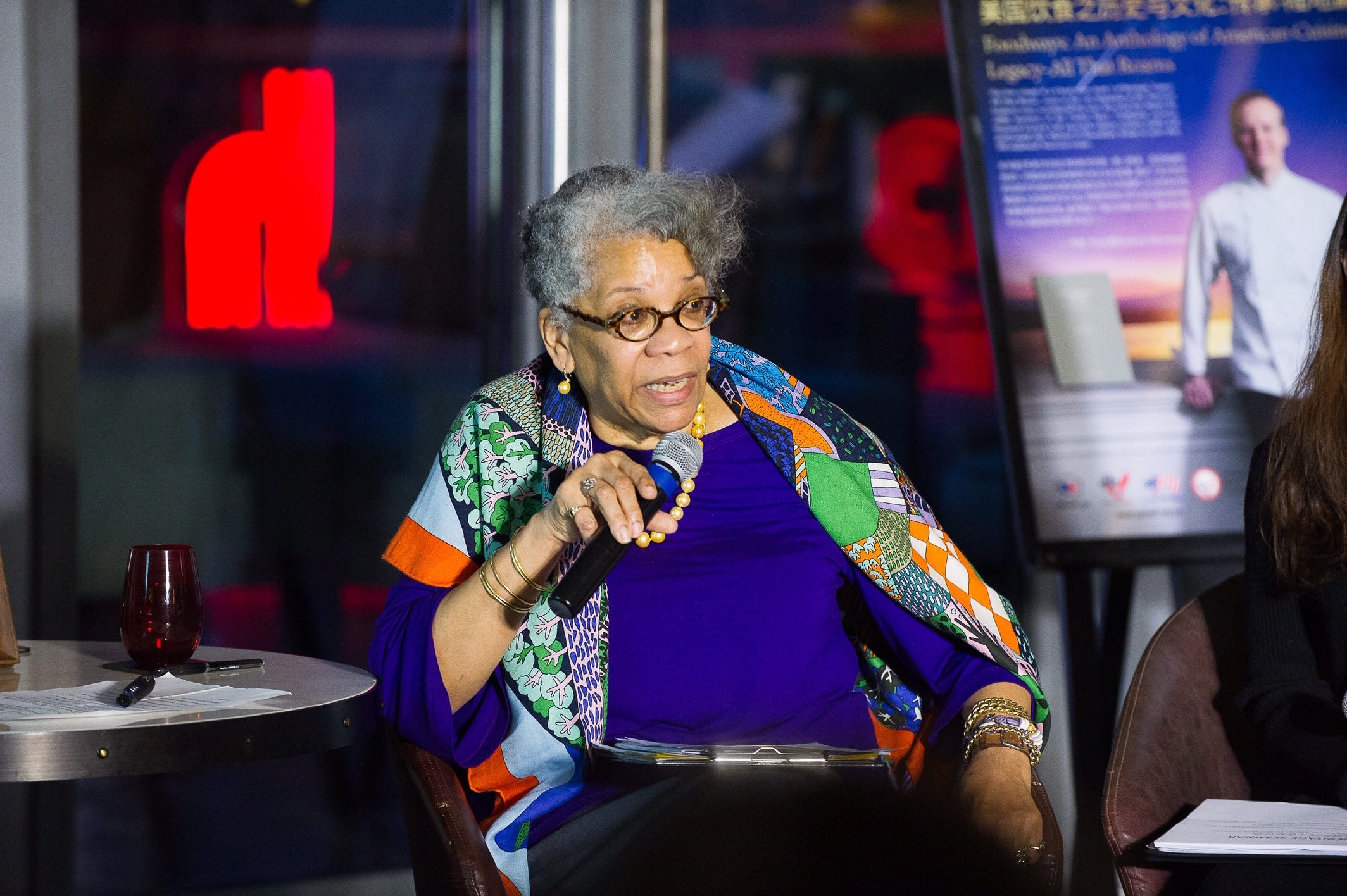 One of the most respected of all culinary historians is  Dr. Jessica Harris. She's a professor, journalist, author of more than a dozen books, and consultant for the National Museum of African American History and Culture in Washington D.C.