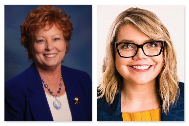 Marsha Berkbigler, left, and Alexis Hill are running for Washoe County Commission District 1.