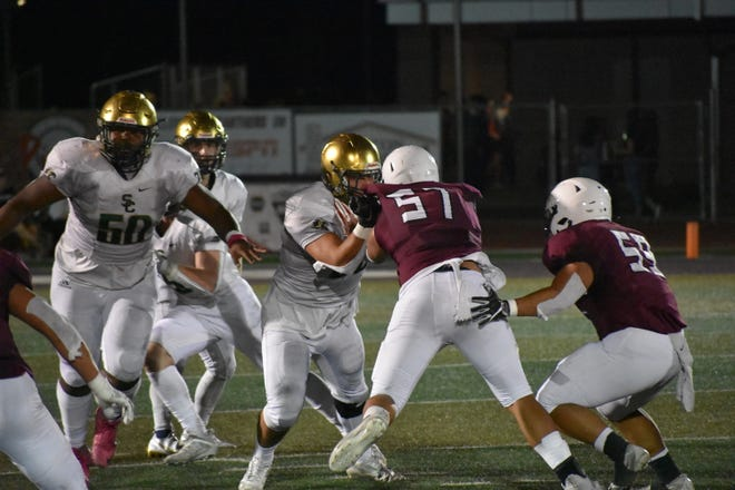 Pine View edged Snow Canyon 36-35 on Friday, October 2, 2020.