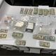 Evidence seized during a narcotics investigation in Oxnard this week.