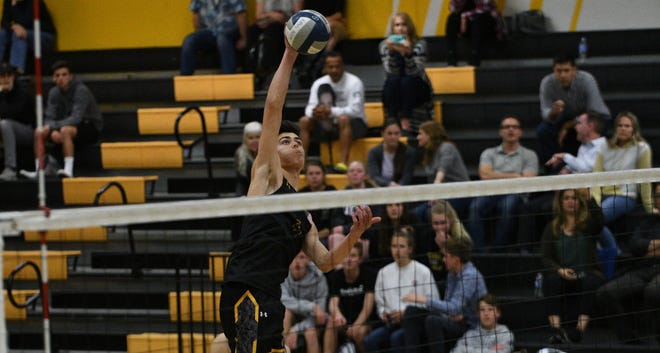 Luke Benson is hopeful he will get to lead a talented Newbury Park High boys volleyball team in his final high school season.