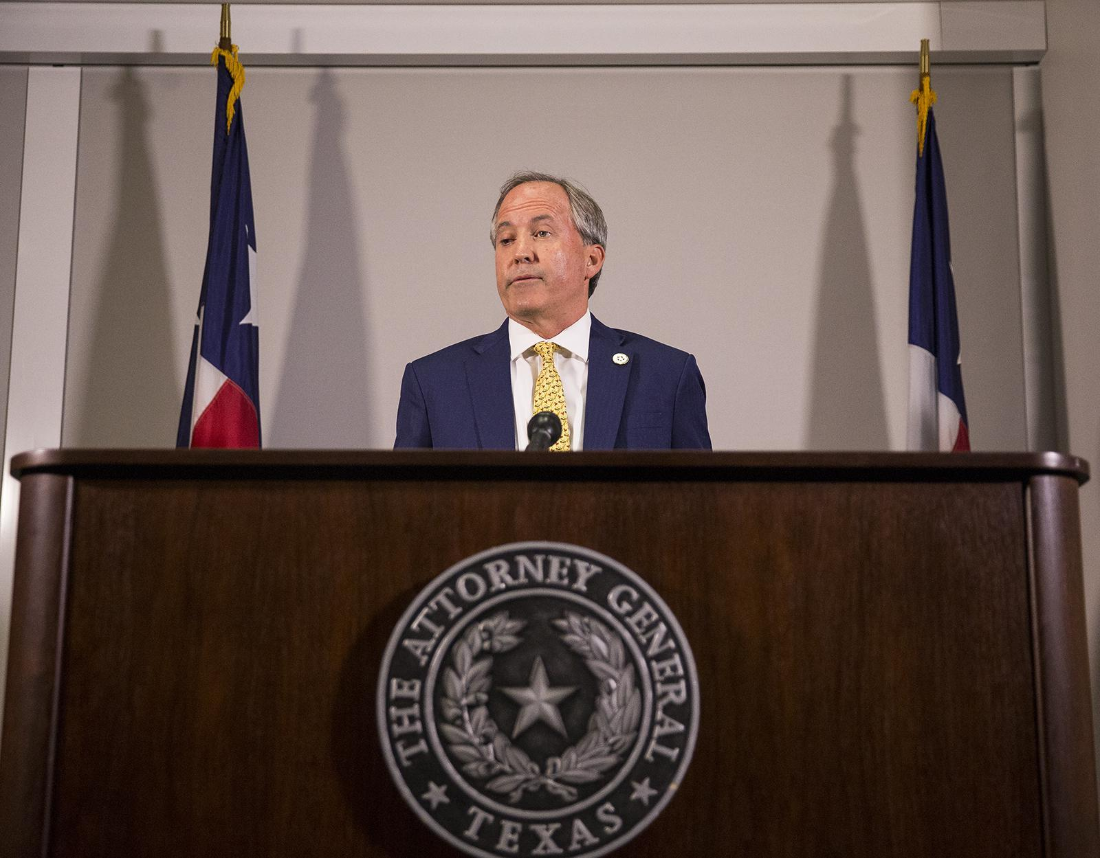 Texas AG Ken Paxton took bribes and abused office, top aides say in call for federal investigation