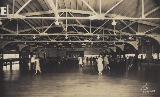 The Geauga Lake Dance Hall was busy six days per week, as Sunday dancing was banned by Portage County officials enforcement of Ohio Blue Laws.