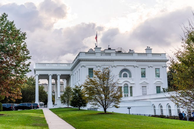 The White House  in Washington.