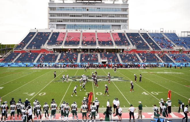 In last Saturday's season opener, FAU defeated Charlotte 21-17 in Boca Raton.