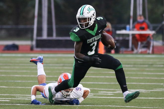 According to Dublin Coffman coach Mark Crabtree, senior slotback Sheron Phipps will not play in the Division I postseason because of OHSAA transfer rules.