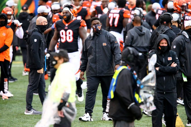Defensive tackle Geno Atkins injured his right shoulder during training camp and had been battling through the injury all season.