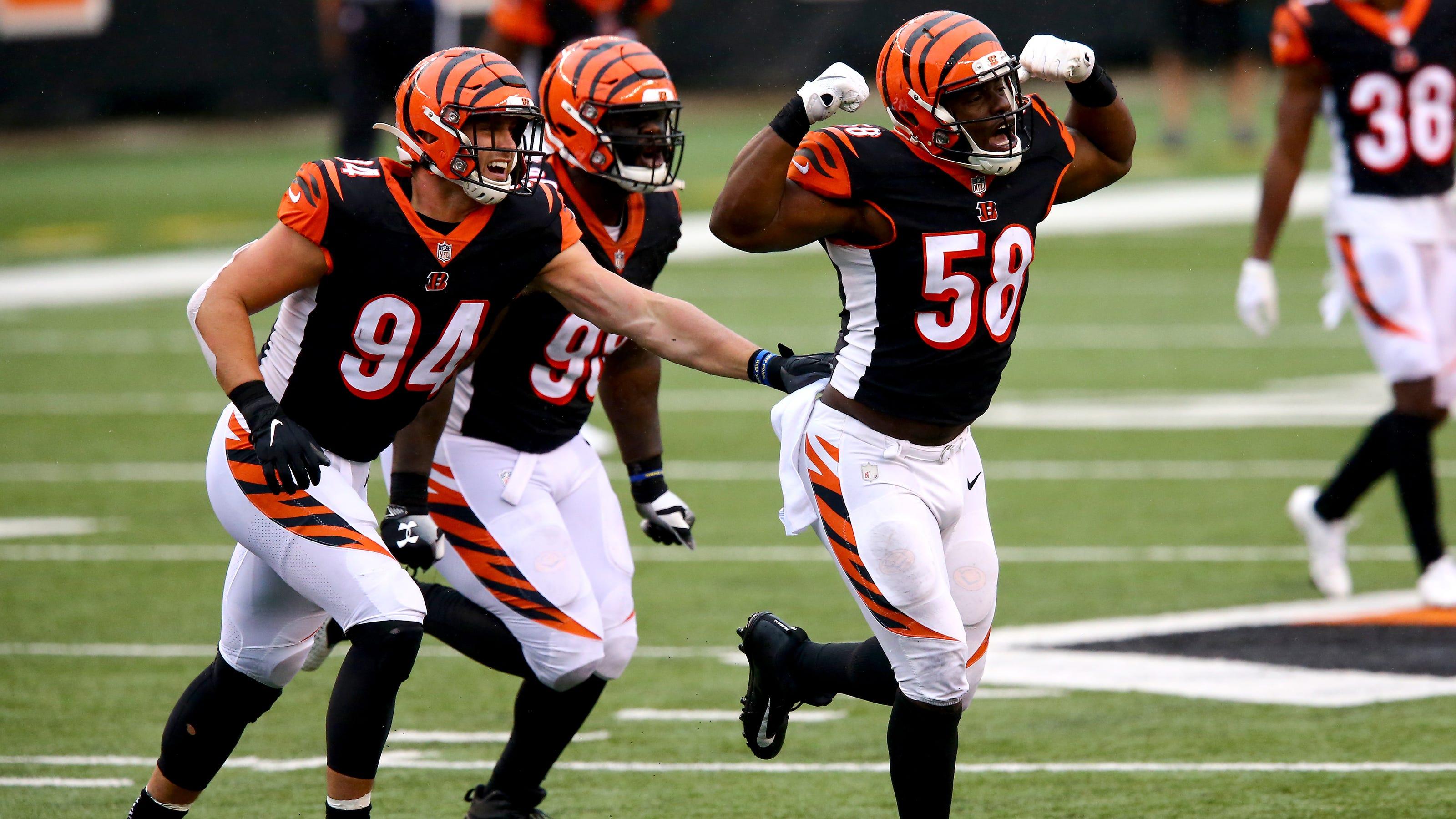 Cincinnati Bengals Defensive Tackle Xavier Willians Run Defense