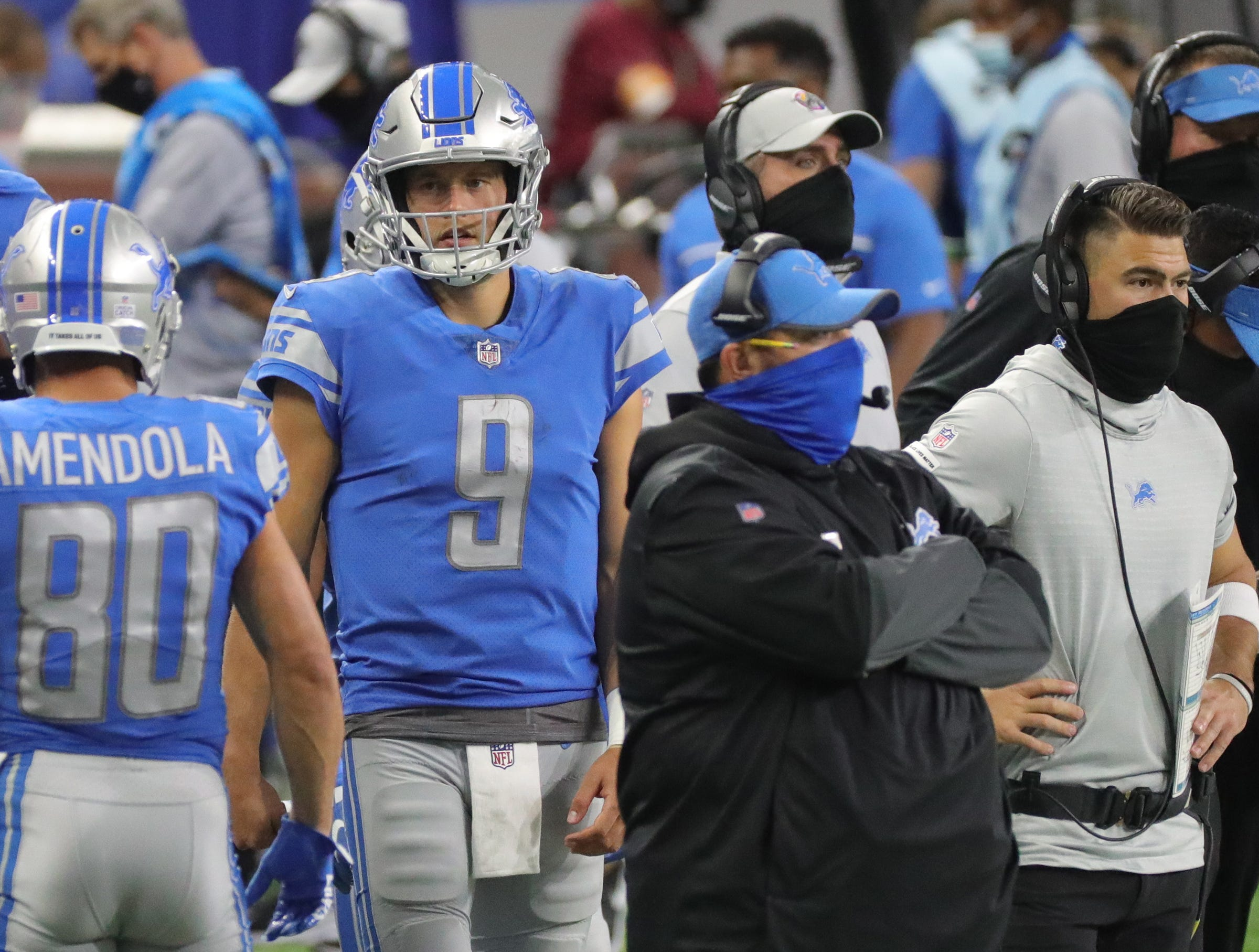 Detroit Lions coaches know why Matthew Stafford's play has been mediocre