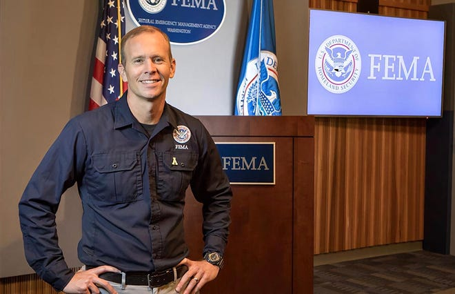 Brock Long, former administrator of the Federal Emergency Management Agency (FEMA), presented to the FSU chapter of the International Association of Emergency Managers on Monday, Sept. 28.