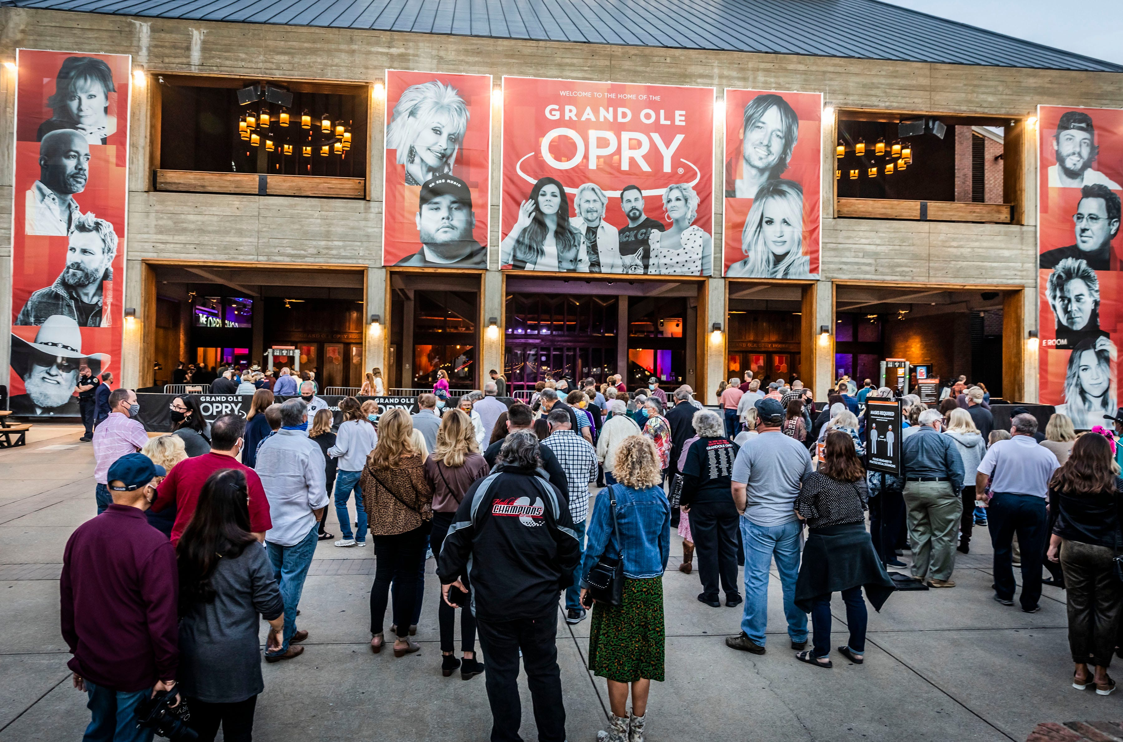 Grand Ole Opry removes capacity restrictions, full audience back on May 14