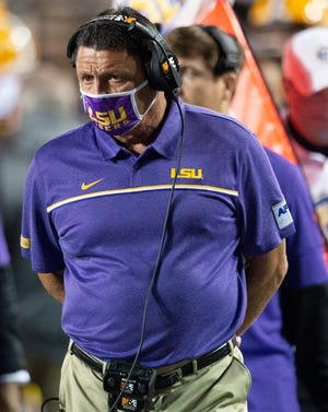 Ed Orgeron is expected to become the first LSU head coach since Les Miles in 2014 to start a true freshman at quarterback when the Tigers host South Carolina at 6 p.m. Saturday in Tiger Stadium on ESPN.