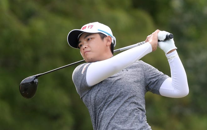 Peiyun Chien's 54-hole lead became a 54-hole victory due to unplayable course conditions.