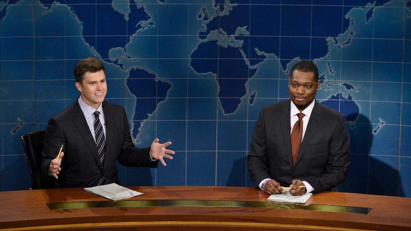 'SNL' Weekend Update: Village People change lyrics to order Trump to stop playing 'Y.M.C.A.'