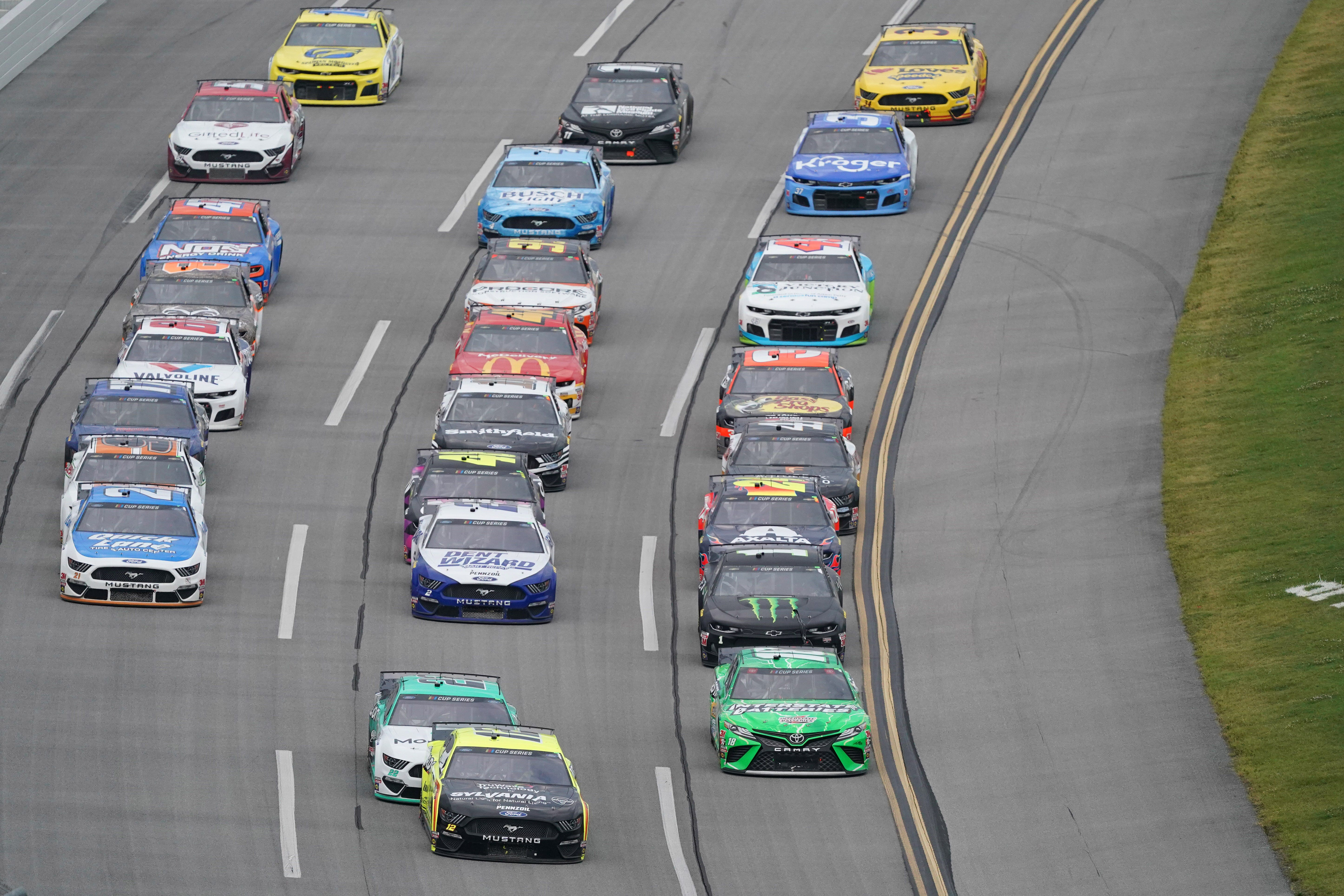 NASCAR Talladega playoff race: Start time, lineup, TV, radio schedule for the YellaWood 500