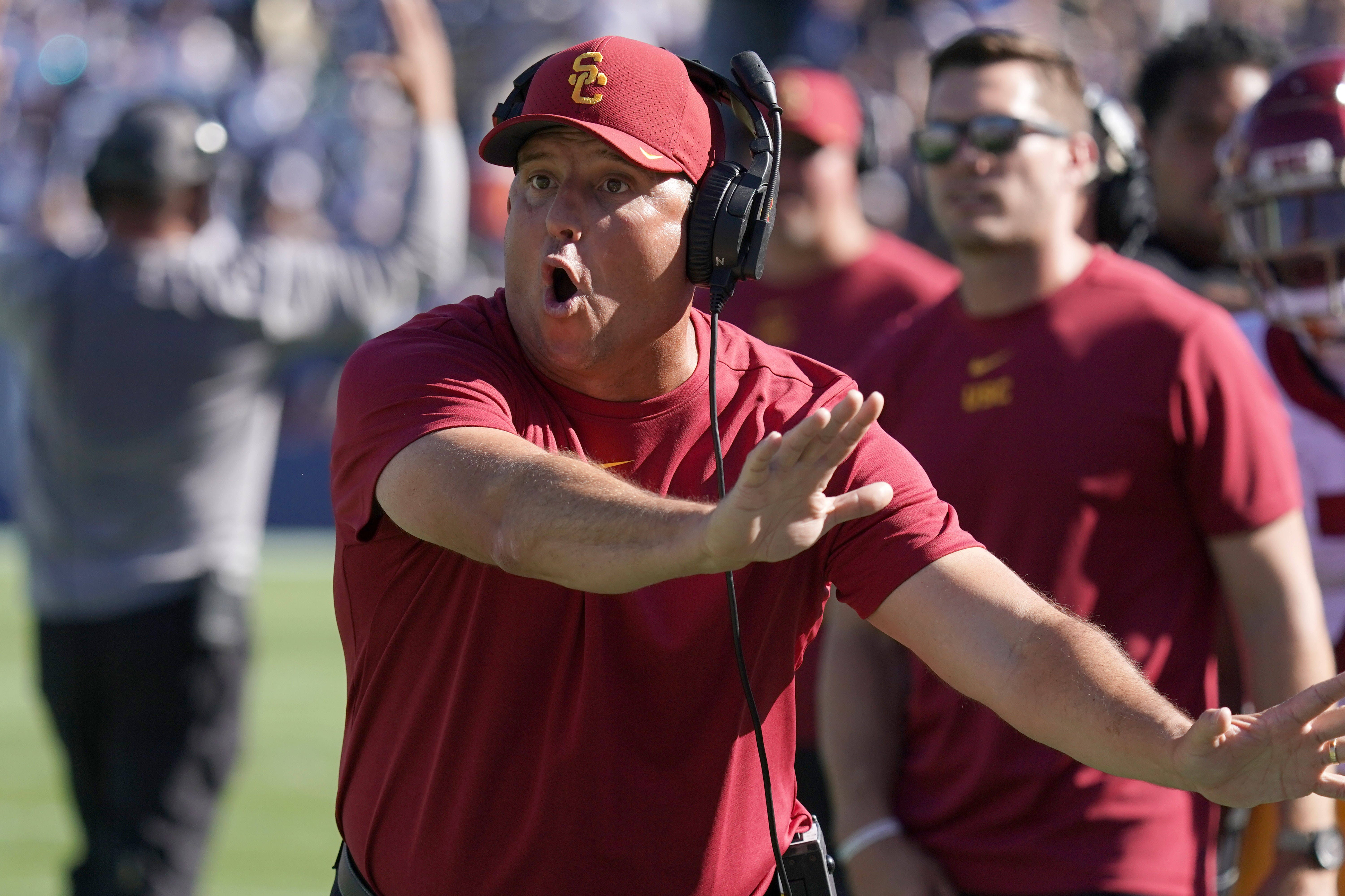 Podcast: Southern California coach Clay Helton on the Pac-12's return