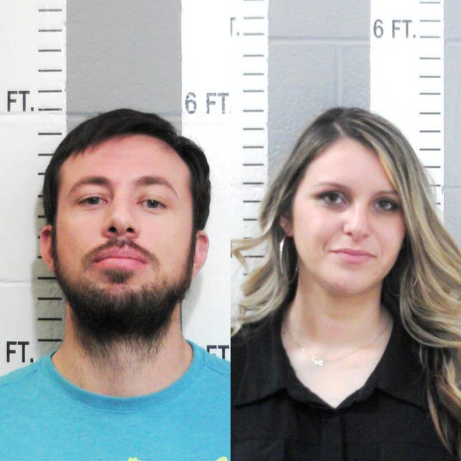 Justin Lindsey Irvine (left) and Taylor Michelle Bashore (right)