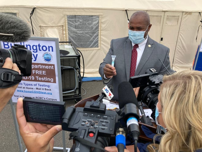 Burlington County Department of Health Director Herb Conaway provides the details on the new home testing program and test kits.