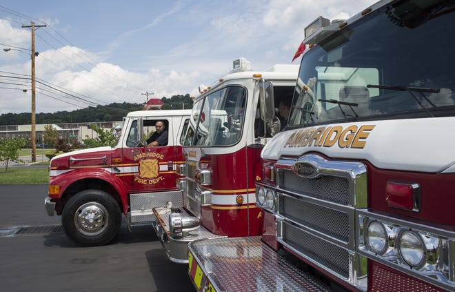 The Ambridge Fire Department will distribute free smoke/carbon monoxide detectors this week provided by Columbia Gas in partnership with the United Way of Beaver County.