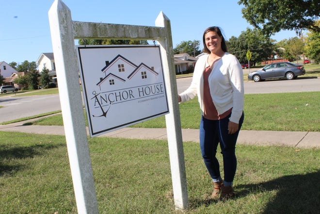 Ashley Sikes is director of Family Promise, a nonprofit nondenominational organization that helps homeless families get into homes.