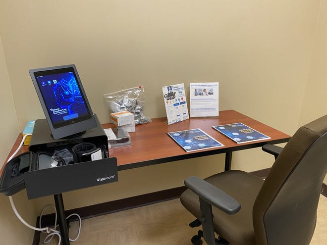 Fletcher Technical Community College's Virtual Wellness Center in Schriever.