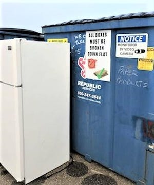 Appliances are not accepted at Holmes Recycle bins, but in an effort to help Holmes residents practice safe recycling, the county will issue a four-hour pass, as the Solid Waste District will host a special recycling day Saturday, Oct. 17, from 8 a.m. to noon.
